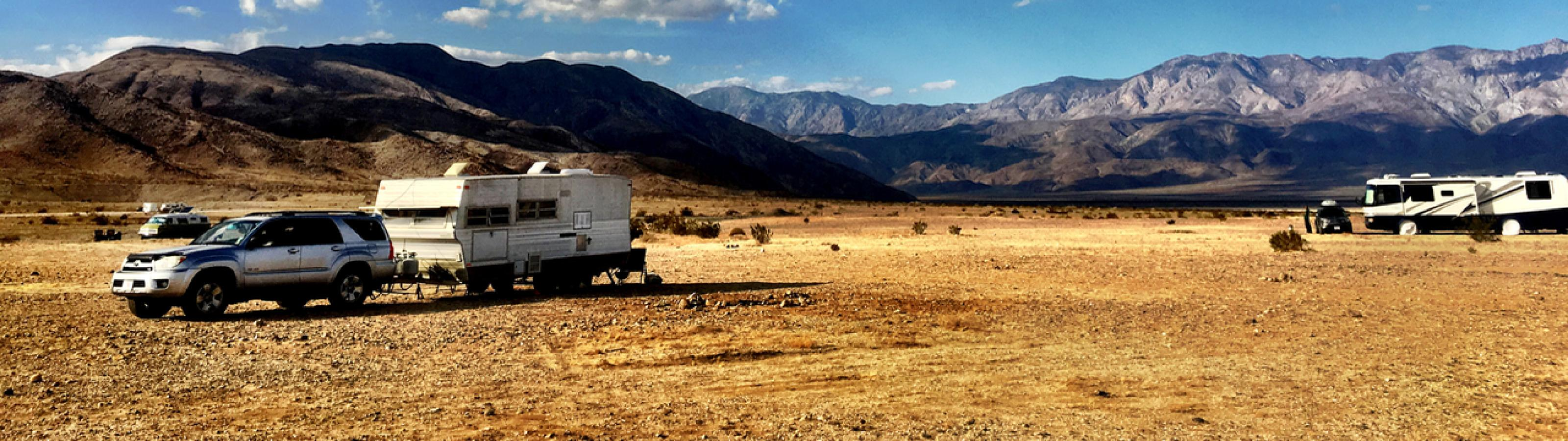 Boondocking in California
